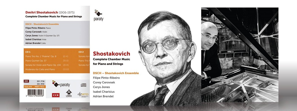 DOUBLE ALBUM WITH SHOSTAKOVICH COMPLETE CHAMBER PIANO WORKS