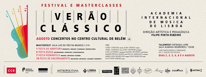 CLASSICAL SUMMER 2017: FESTIVAL AND MASTERCLASSES